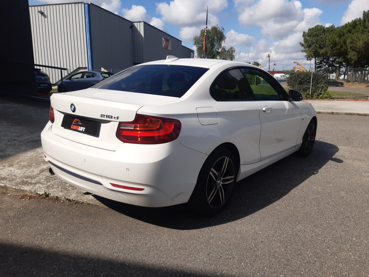 photo_BMW Serie 2 218D - 150 cv -Bva8- SPORT - GTIE BMW, Carslift