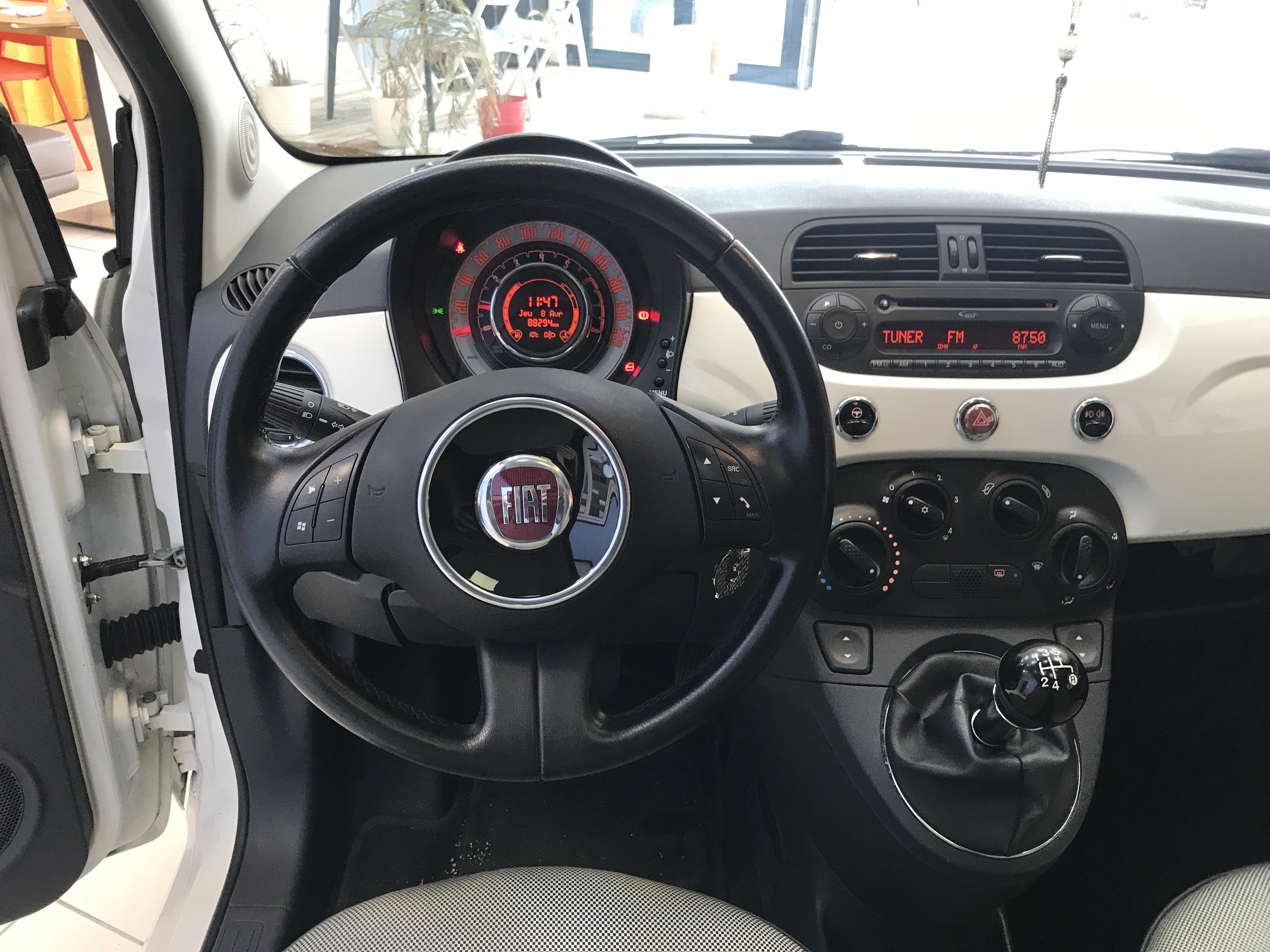 photo_Fiat 500 LOUNGE 1.2 MPi 69cv, Carslift