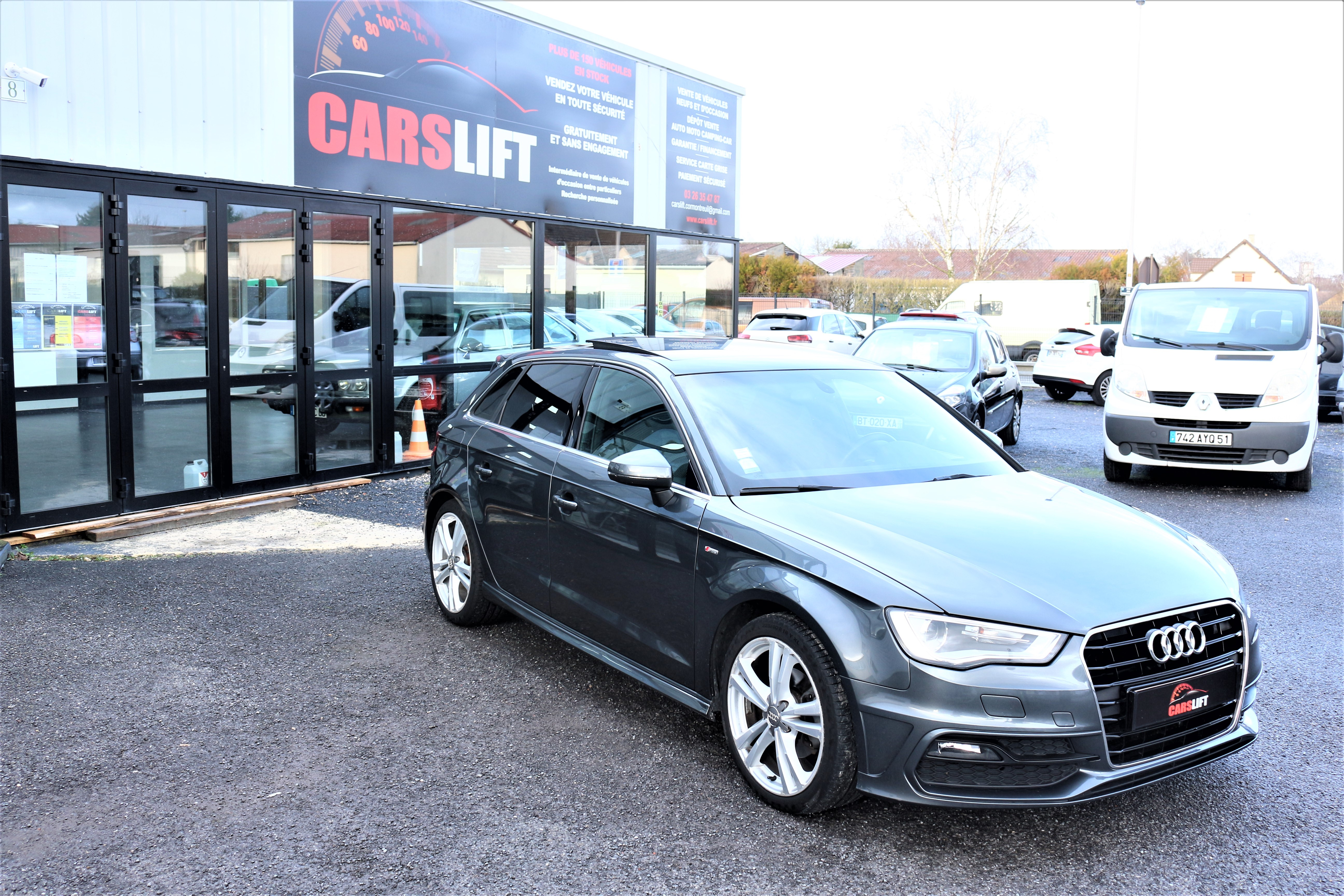 photo_Audi A3 SPORT BACK SLINE 2.0 TDI 150,